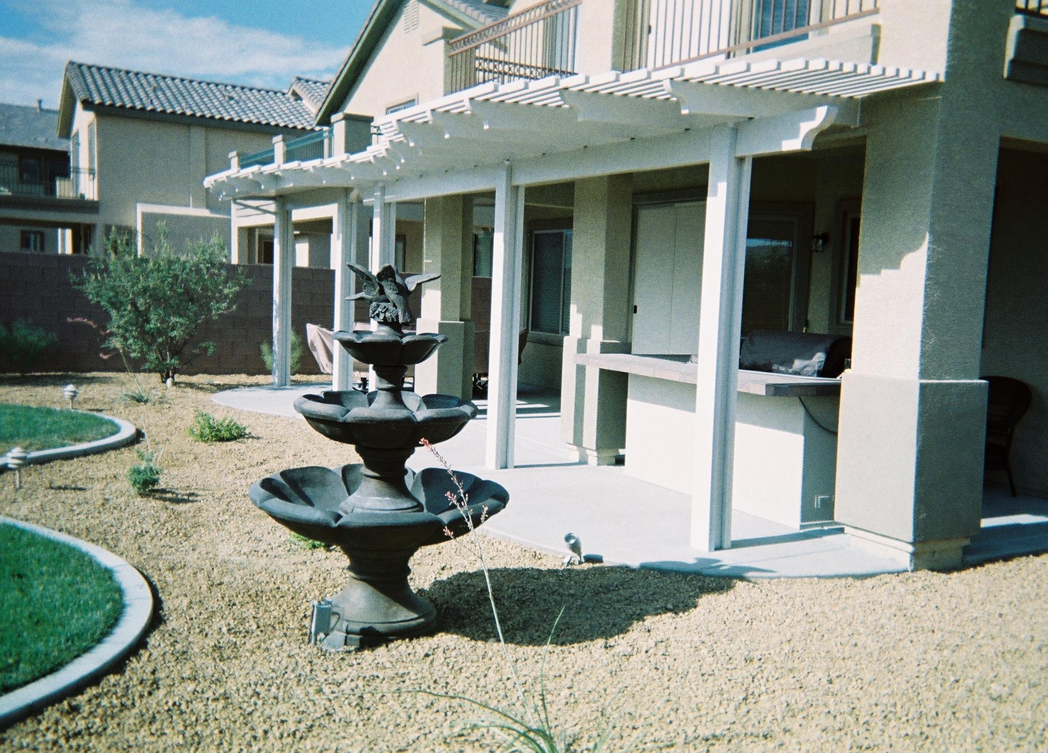 Landscape by Paradise Builders Las Vegas 702 242 0271